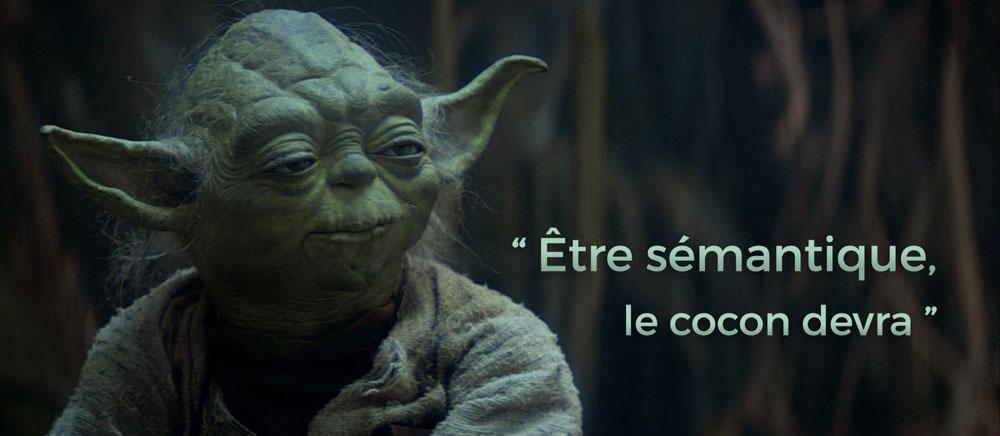 Yoda y semántica